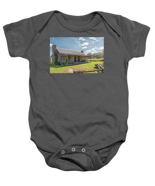 Independence Texas Cabin Baby Onesie