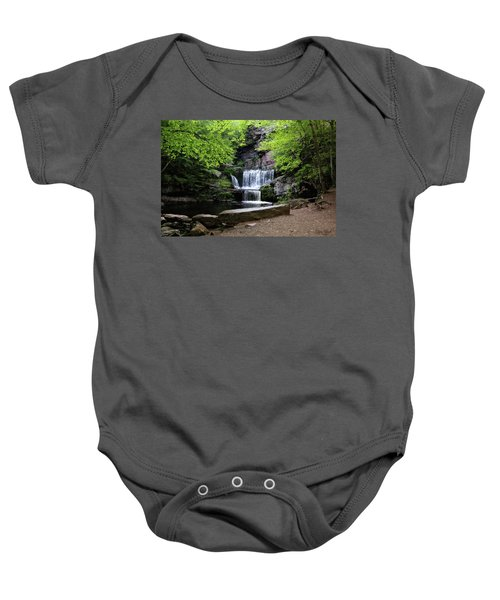 Indian Ladder Falls Baby Onesie