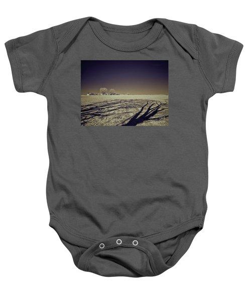 Infrared Landscape Lancaster Pa Baby Onesie