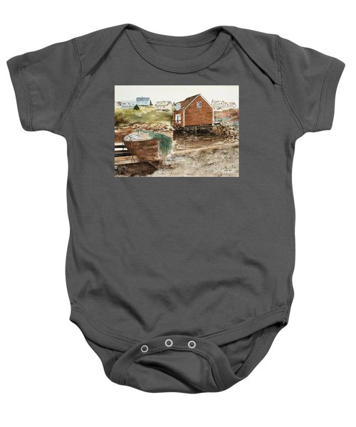 Inlet At Peggy's Cove Baby Onesie