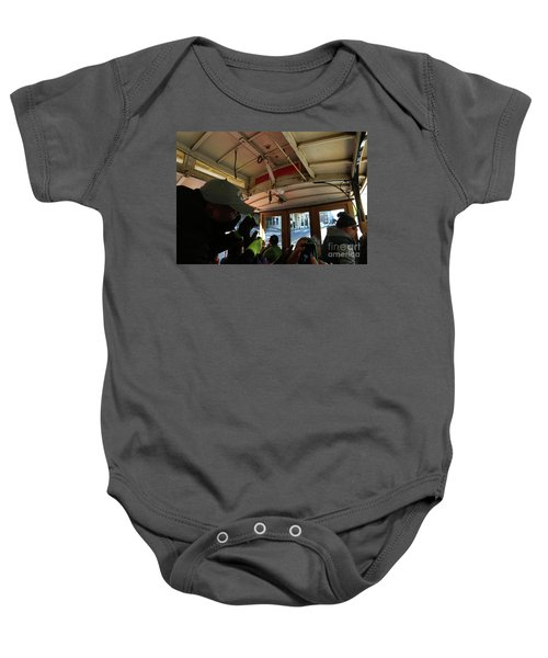 Inside A Cable Car Baby Onesie