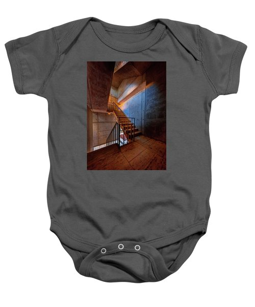 Inside The Stairwell Baby Onesie
