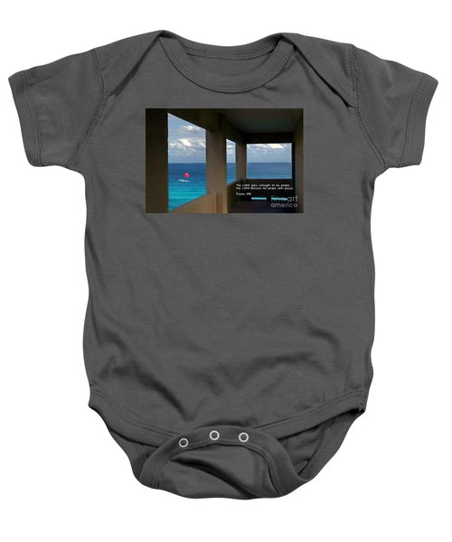 Inspirational - Picture Windows Baby Onesie