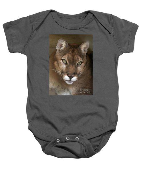 Intense Cougar Baby Onesie