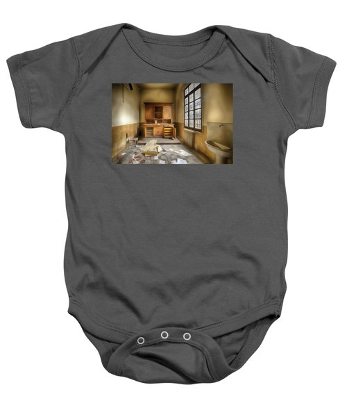 Interior Furniture Atmosphere Of Abandoned Places Dig Paint Baby Onesie