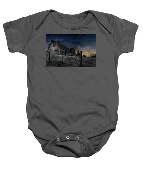Baby Onesie featuring the photograph Interstellar Farm by Bill Wakeley