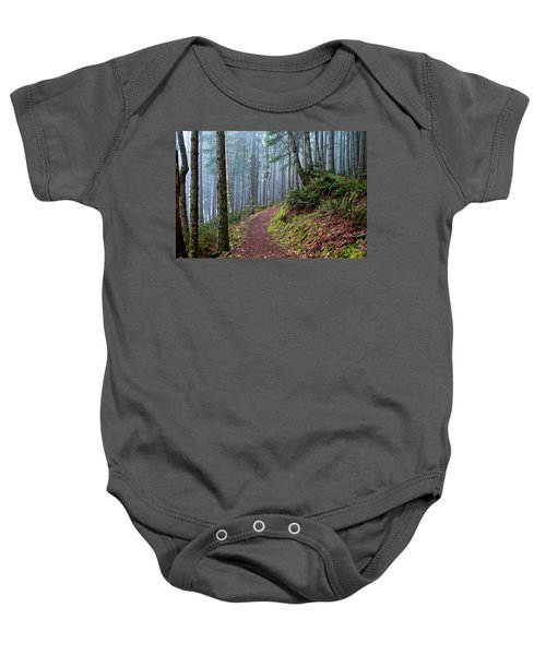 Into The Misty Forest Baby Onesie