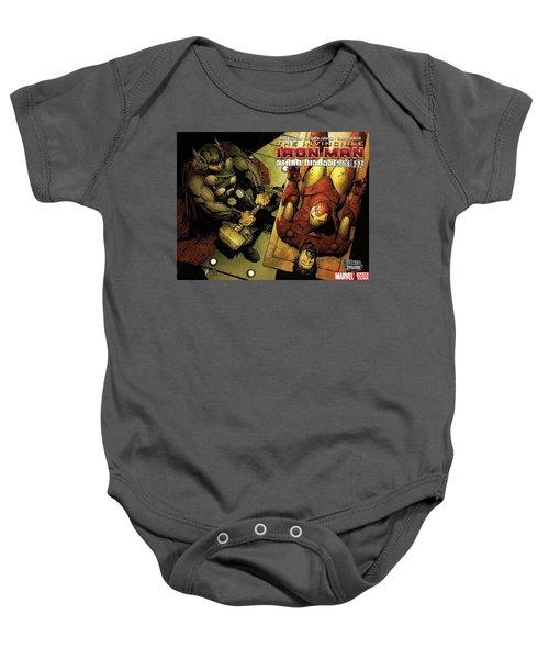 Invincible Iron Man Baby Onesie