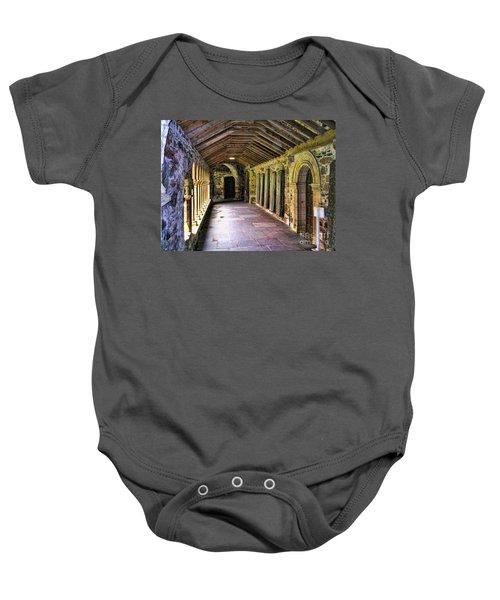 Arched Invitation Passageway Baby Onesie