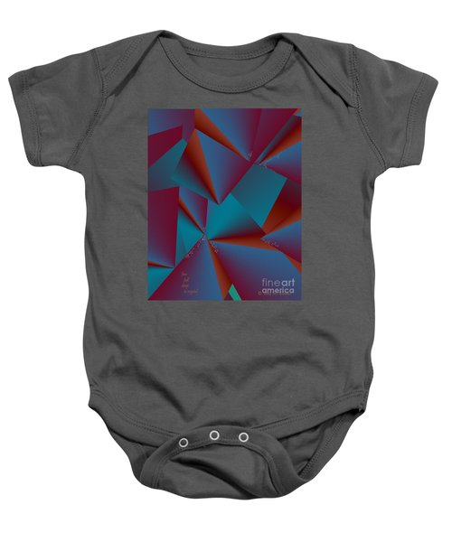 Inw_20a6146 Free Fall Drop To Crystal Baby Onesie