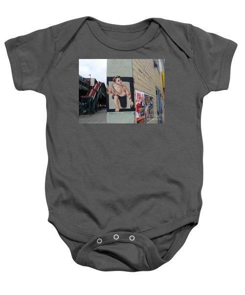 Inwood Graffiti  Baby Onesie by Cole Thompson
