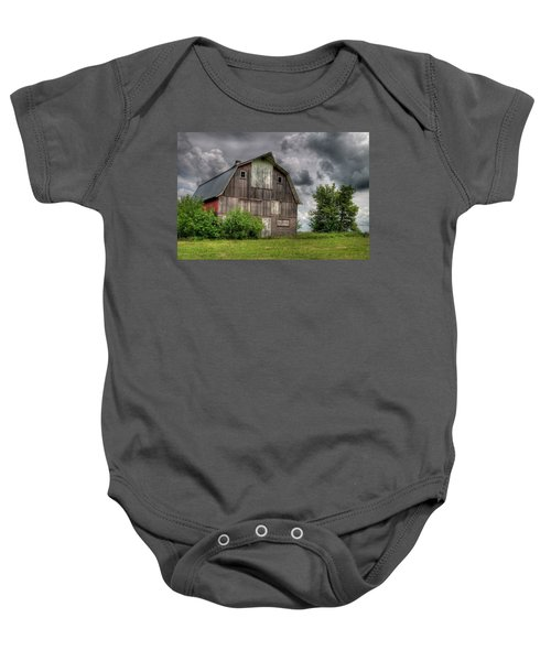 Iowa Barn Baby Onesie