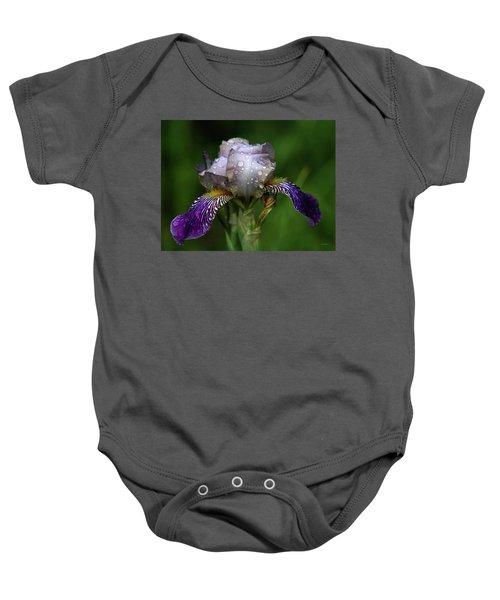 Iris After The Rain 1409 H_2 Baby Onesie