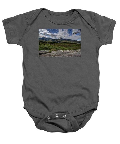 Irish Sky - Wicklow Mountains Baby Onesie