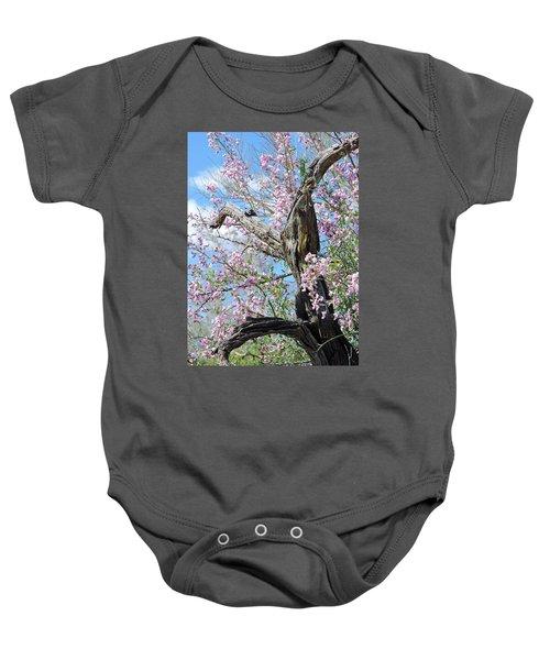 Ironwood In Bloom Baby Onesie