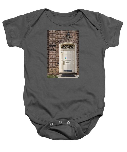 Irvin Hall Penn State  Baby Onesie by John McGraw