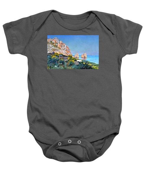 Island Of Capri - Gulf Of Naples Baby Onesie