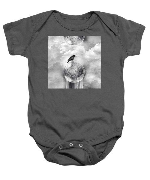 It's A Crow's World Baby Onesie