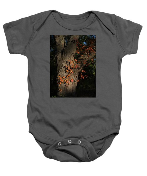 Ivy In The Fall Baby Onesie