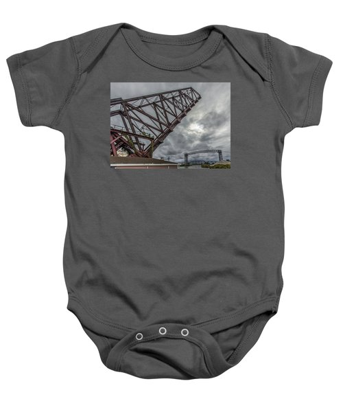 Jackknife Bridge To The Clouds Baby Onesie