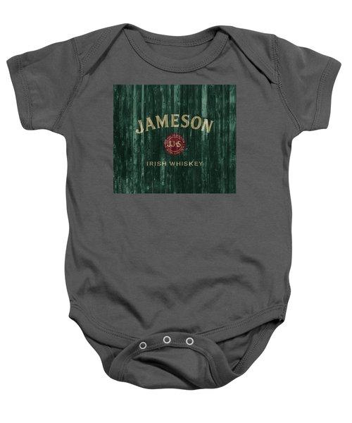 Jameson Irish Whiskey Barn Door Baby Onesie