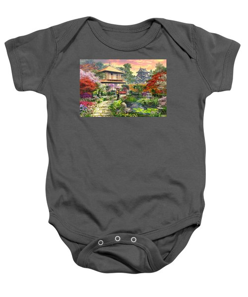 Japan Garden Variant 2 Baby Onesie