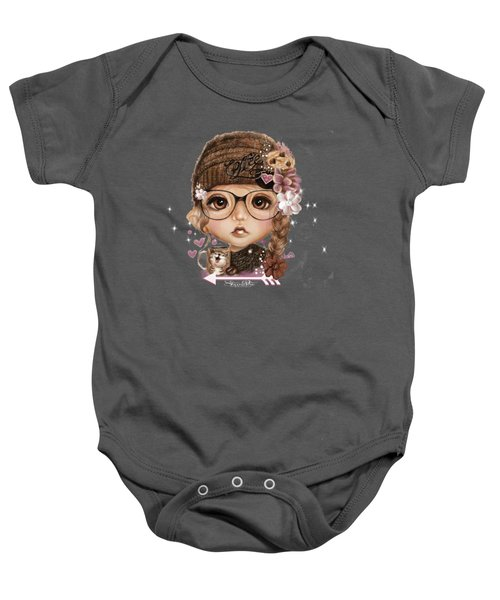 Java Joanna Baby Onesie by Sheena Pike