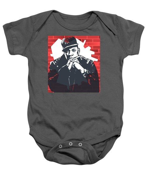 Jay Z Graffiti Tribute Baby Onesie