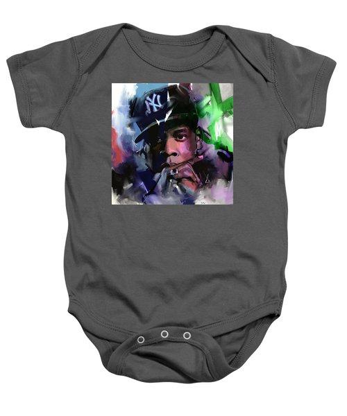 Jay Z Baby Onesie by Richard Day