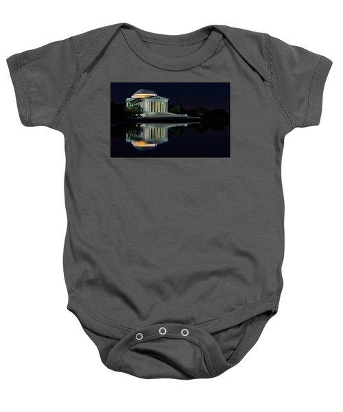 The Jefferson At Night Baby Onesie