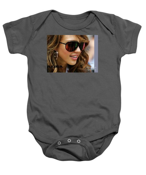 Jessica Alba, Cool Shades Baby Onesie