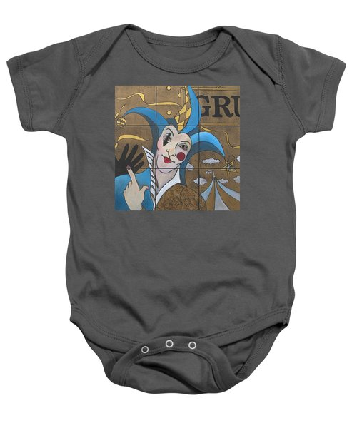Jester In Blue Baby Onesie