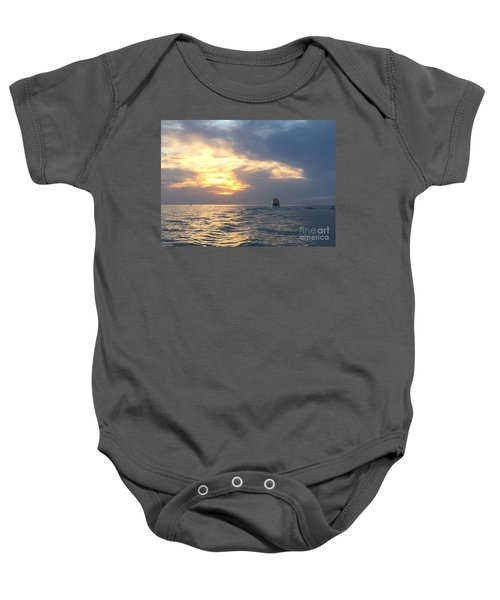 Watching Over The Inlet Baby Onesie
