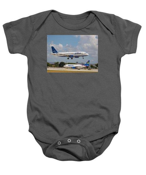Jetblue Over Spirit Air Baby Onesie