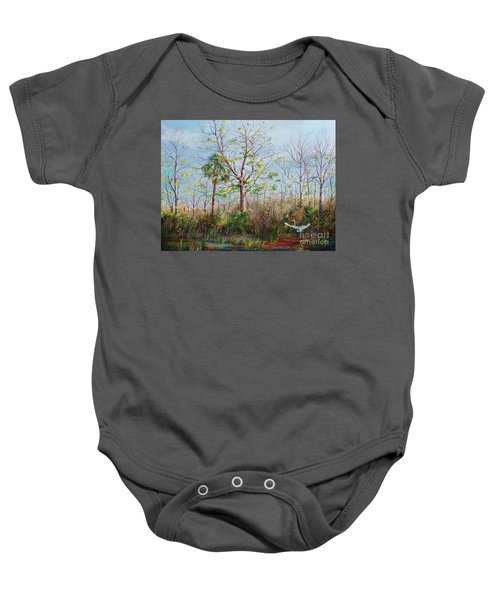 Jim Creek Lift Off Baby Onesie