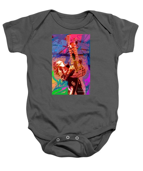 Jimmy Page Stairway To Heaven Baby Onesie