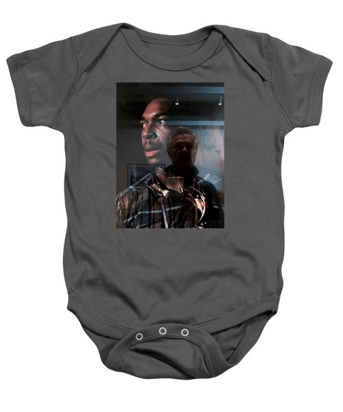 John Coltrane And Me Baby Onesie
