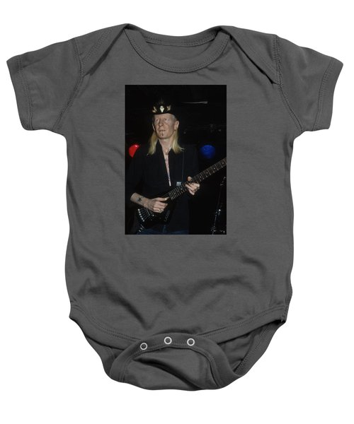 Johnny Winter Baby Onesie