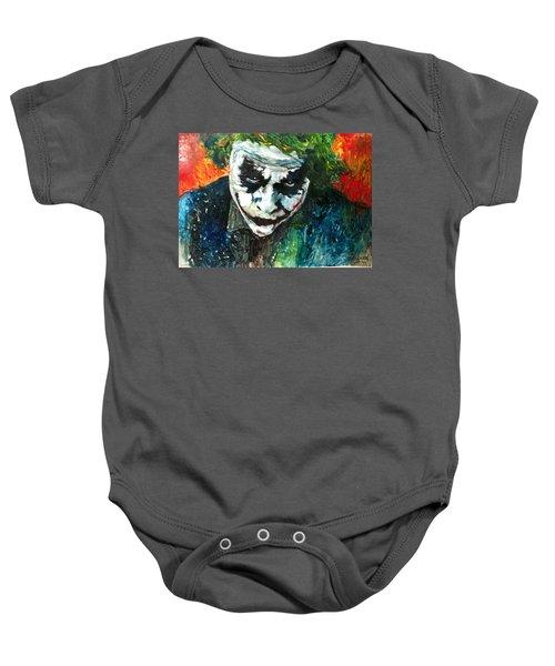 Joker - Heath Ledger Baby Onesie