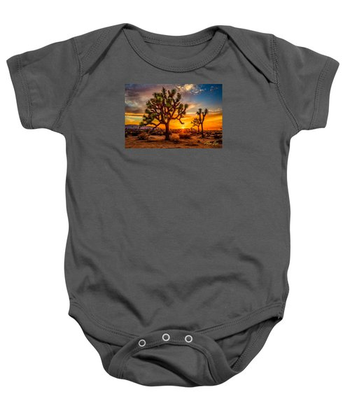 Joshua Tree Glow Baby Onesie