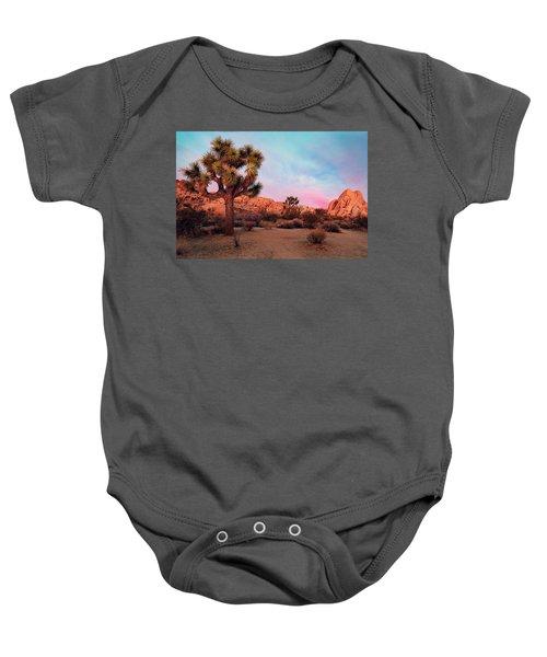 Joshua Tree With Dawn's Early Light Baby Onesie