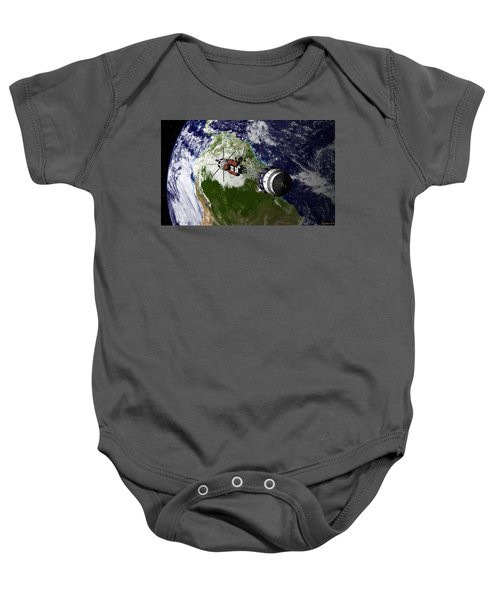 Journey Begins Baby Onesie