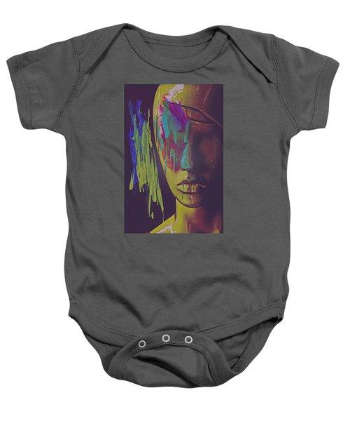 Judgement Figurative Abstract Baby Onesie