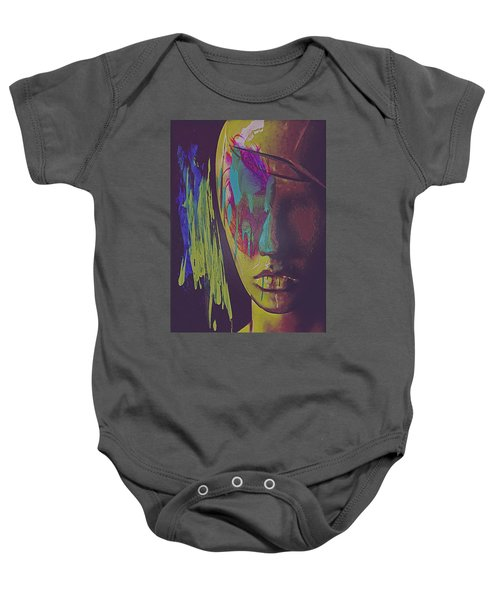 Judgement Figurative Abstract Baby Onesie