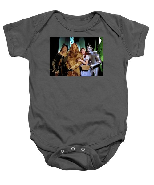 Judy Garland And Pals The Wizard Of Oz 1939-2016 Baby Onesie