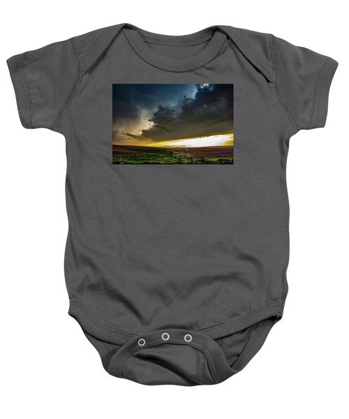 June Comes In With A Boom 005 Baby Onesie