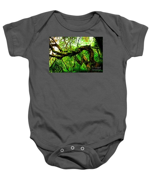 Jungle Forest Himalayas Mountain Nepal Baby Onesie