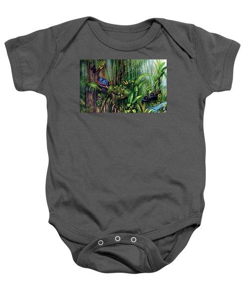Jungle Talk Baby Onesie