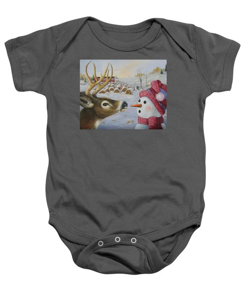 Just A Nibble Baby Onesie