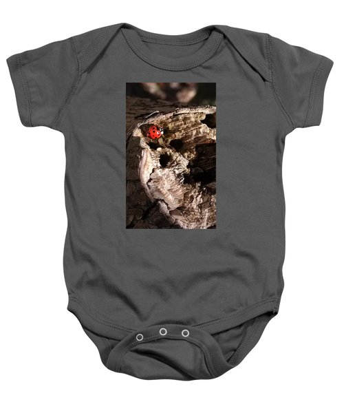 Just A Place To Rest Baby Onesie